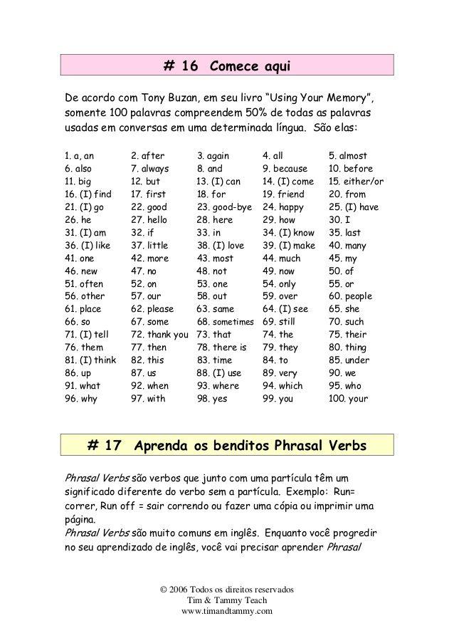 Como aprender Ingles mais rapido