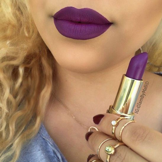 Matte Glam is having a moment. Instagram user @glambymeli is absolutely rocking it in this photo!