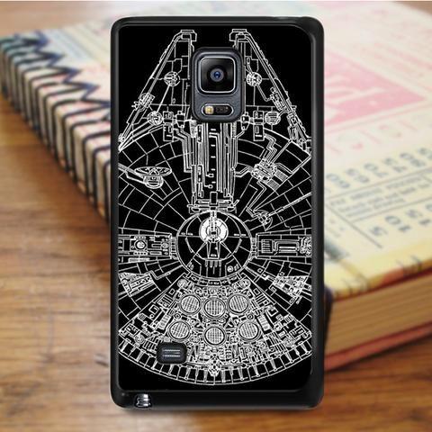 Star Wars Millenium Falcon Samsung Galaxy Note 4 Case
