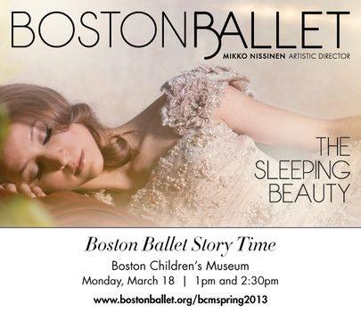 Boston Ballet presents Ballerina Story Time at Boston Children's Museum