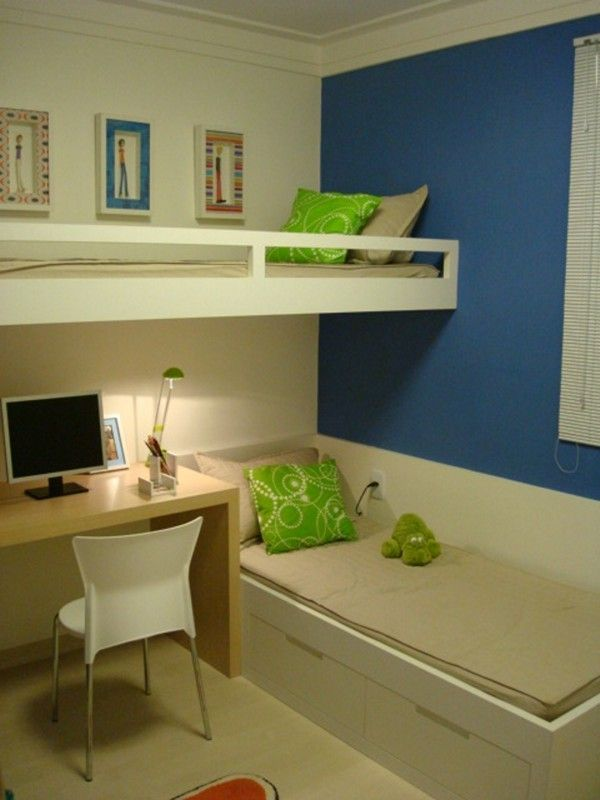 Very sleek looking bunk beds. http://www.retrorealtygroup.com