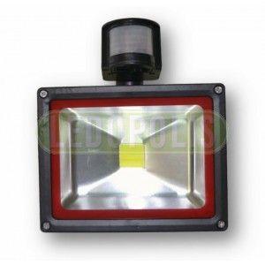 20 Watt Αδιάβροχος Προβολέας LED IP65 240V με ανιχνευτή κίνησης - Προβολείς LED