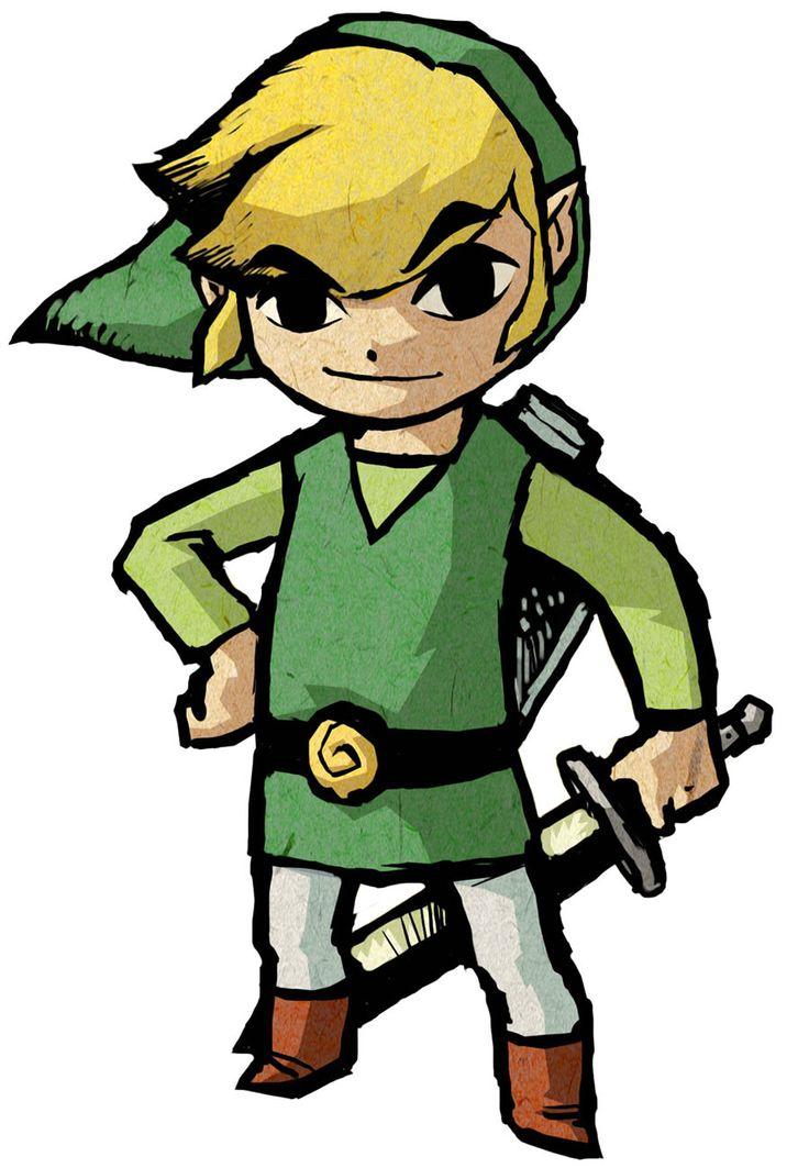 Link - Characters & Art - The Legend of Zelda: The Wind Waker HD
