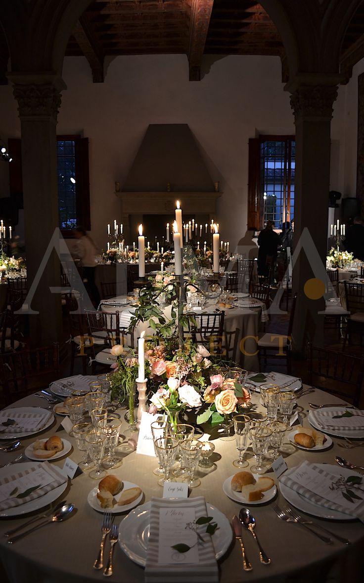 ALMA Project @ Villa il Garofalo - Pinspots - lucciola lucciole, table dinner, palo, poles pali 012