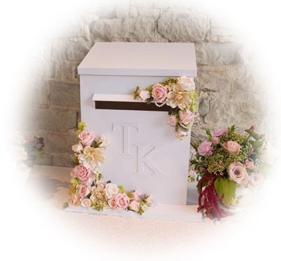 "Wedding Letterbox - Awesome for wedding cards or ""guest book"" post cards!"