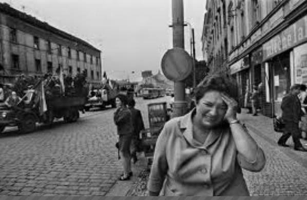 Russian Occupants in Prague, 1968