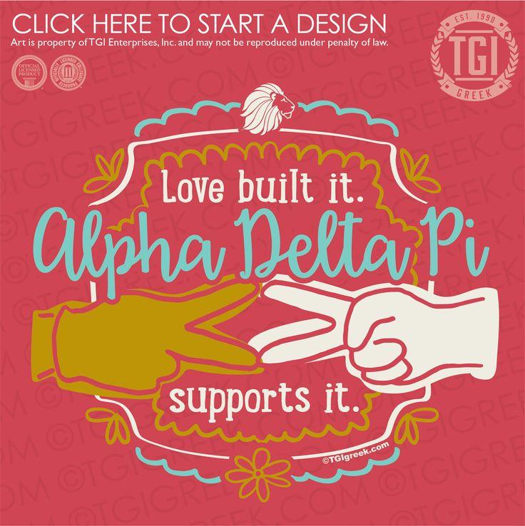 Alpha Delta Pi | ΑΔΠ | Philanthropy | Ronald McDonald House Charities | TGI Greek | Greek Apparel | Custom Apparel | Sorority Tee Shirts | Sorority T-shirts | Custom T-Shirts