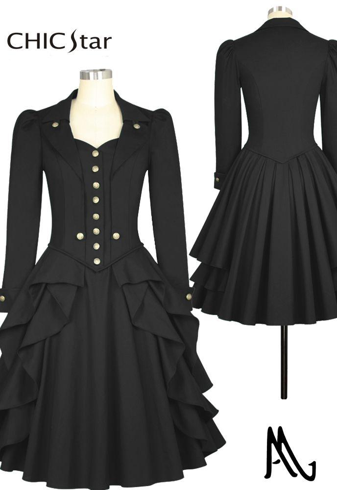 afa6a9925c4 Steampunk Dress