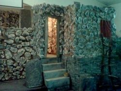 """If you need a """"rock wall"""" for theatrical performances, Vacation Bible School, a parade float, Easter pageant, etc, there are many options for..."""