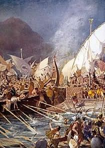 Battle of Salamis, September 480 BC...Greek victory over the Persians ensured the emergence of Western civilization as a major force in the world