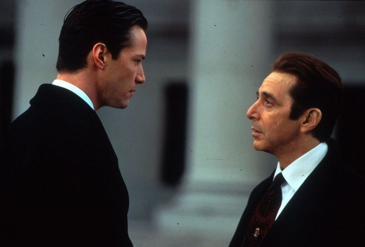- What are you?       - Oh, I have so many names...      - Satan.      - Call me Dad.    (The Devil's Advocate): Film, Al Pacino, 1997, Abogado Del, Devils, Cinema, Favorite Movies, Keanu Reeves