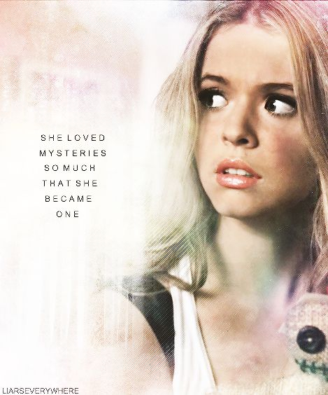 alison dilaurentis & a john green quote. yes