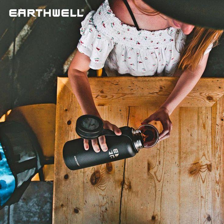 Earthwell Kewler est une bouteille isolante durable et sûre avec double paroi …   – Military 1st Presents