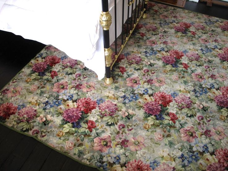 18 Best Vintage Floral Carpet Images On Pinterest