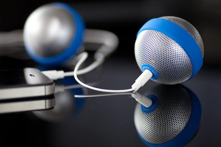 1   A Playful iPhone Speaker, Shaped Like A Ball   Co.Design: business + innovation + design