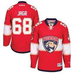 Reebok Aaron Ekblad Florida Panthers Red Home Premier Player Jersey