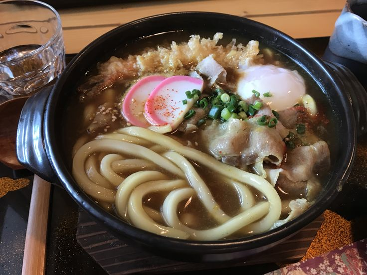 #Udon #Sanuki_style #Curry_udon #Spicy #Onsen_egg #Shrimp_tempura #Pork_belly #Rice_cakes #Noodles #Lunch #KOHMURA #Sapporo #Japan #うどん #讃岐系 #カレーうどん #具沢山 #温泉卵 #量が多い #札幌 #香村 #매운 #카레 #우동