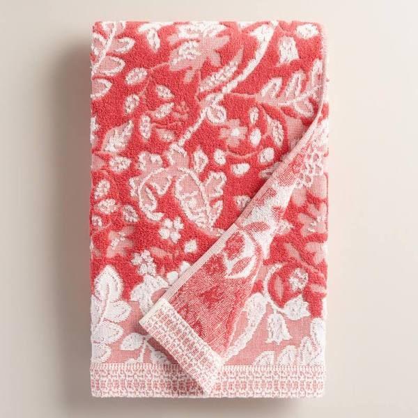 Best TOWEL Images On Pinterest Bath Towels Bathroom Towel - Coral bath towels for small bathroom ideas