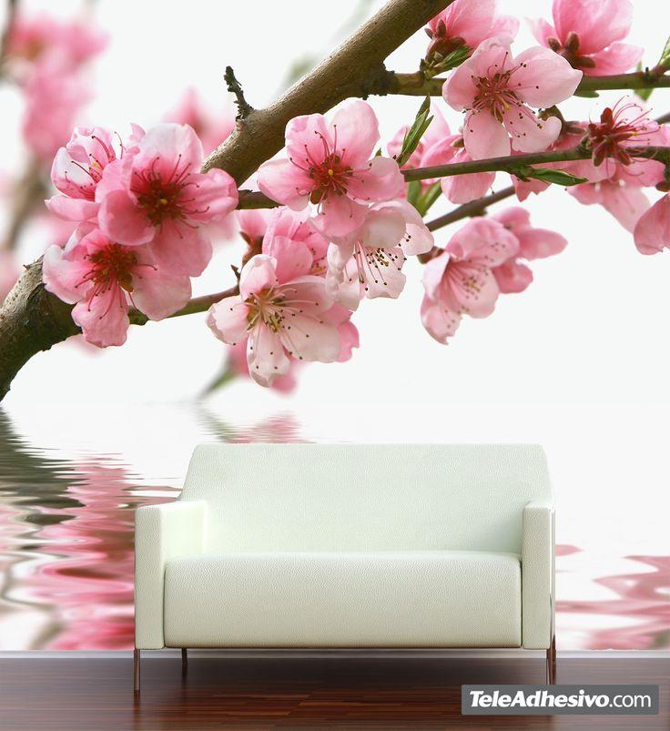 Fotomurales: Almendro en flor 2