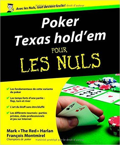 Poker Texas Holdem Pour Les Nuls Amazonca Mark The