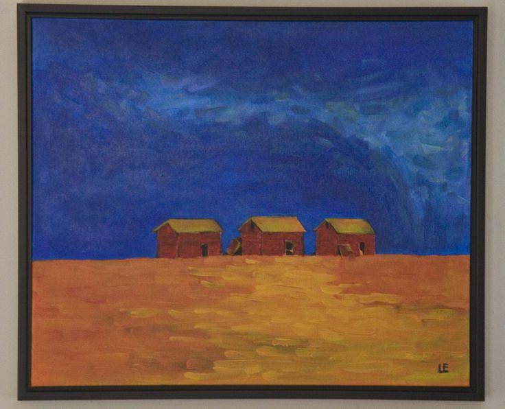 Prairie Trio  Acrylic on Canvas   -  2013