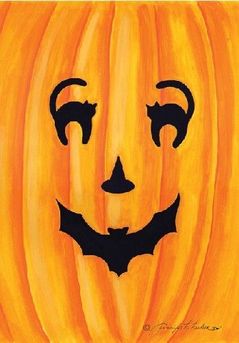 HALLOWEEN PUMPKIN, LOVE THE EYES, NOSE AND MOUTH