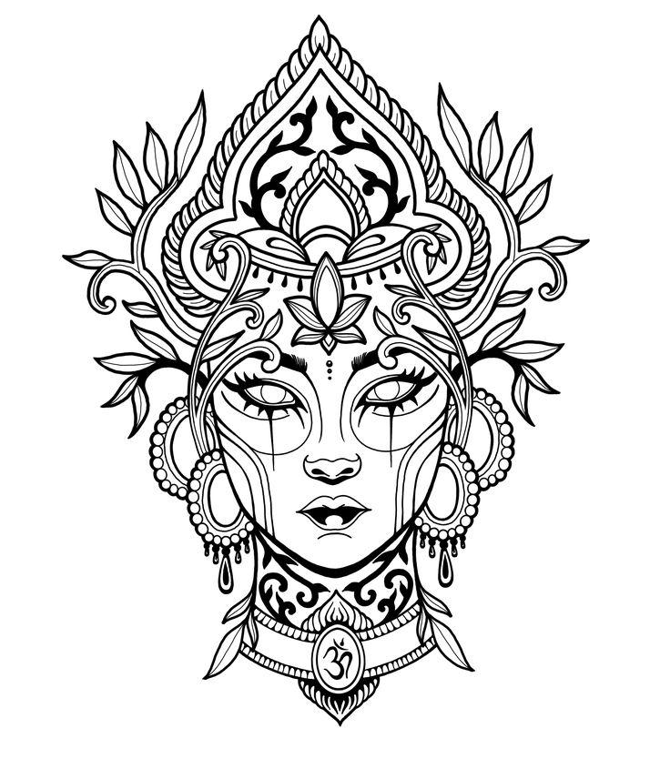 pinannkatrin waltering on spiritual  floral tattoo