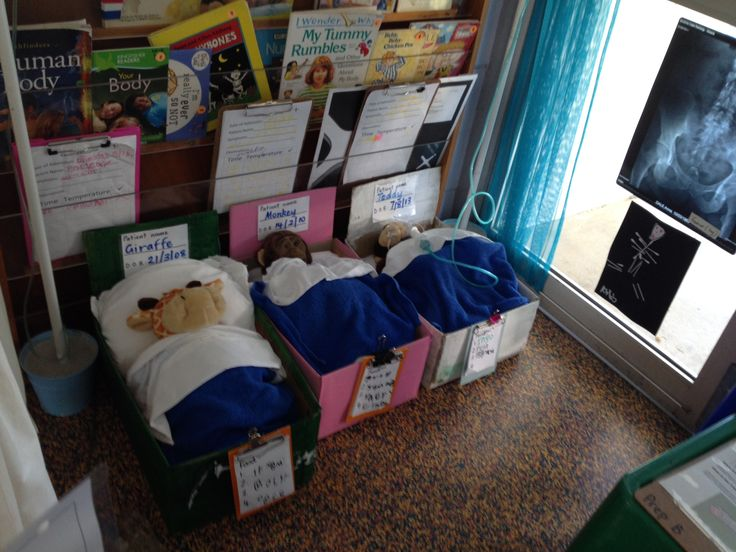 Teddies in bed! Hospital roleplay Pinterest Beds