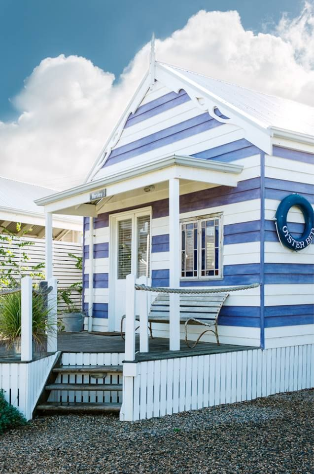 The beach huts in Middleton, South Australia. http://www.beachhuts.com.au/