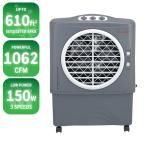 1062 CFM 3-Speed Portable Evaporative Cooler for 610 sq. ft., Grays