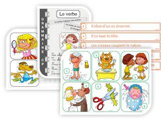 CP grammaire : découvrir le verbe daction - IPOTÂME ....TÂME