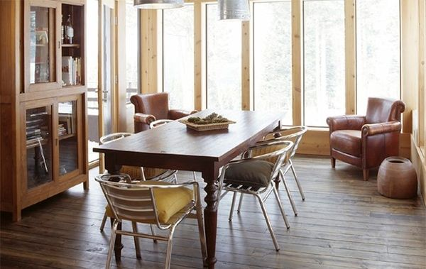 20 Dining Rooms with Metal Dining Chairs