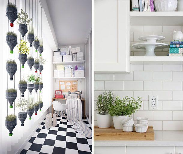 decoracion con plantas dta decoratualma interior cocina diy