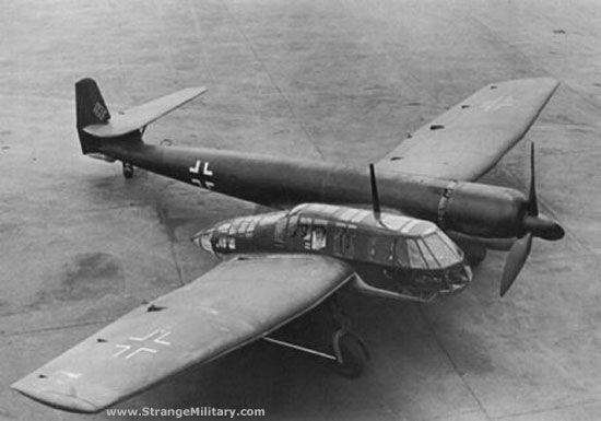 Proyectos de aviones abandonados; Vfw Vak 191B