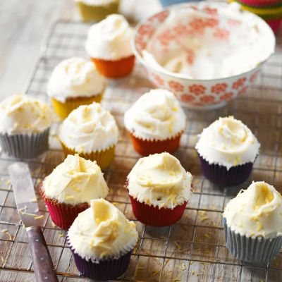 For a sweet treat try @waitrose's #courgette, lemon & mascarpone cupcakes