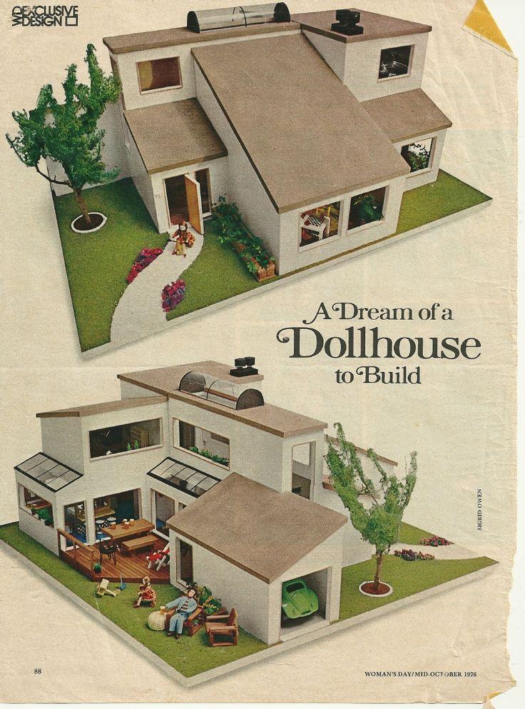 415 Best Miniature Modern Dollhouses Images On Pinterest