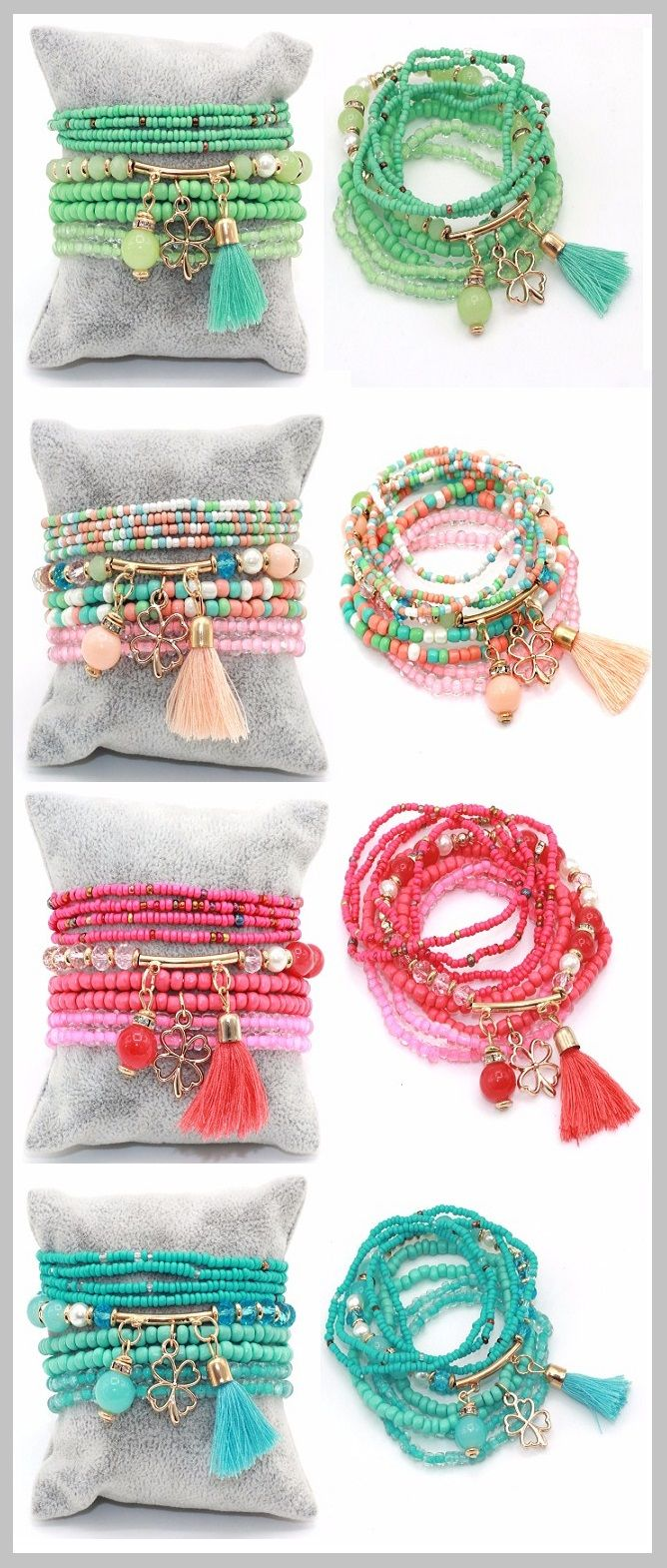 Jewelry - stylish beaded bracelet for women