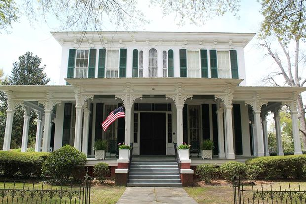 eufala district architecturally charming neighborhoods alabama