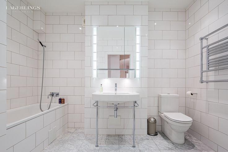 Placering av toalett/handfat/ badkar.