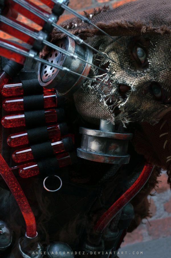 Scarecrow Portrait by AngelaBermudez.deviantart.com on @deviantART
