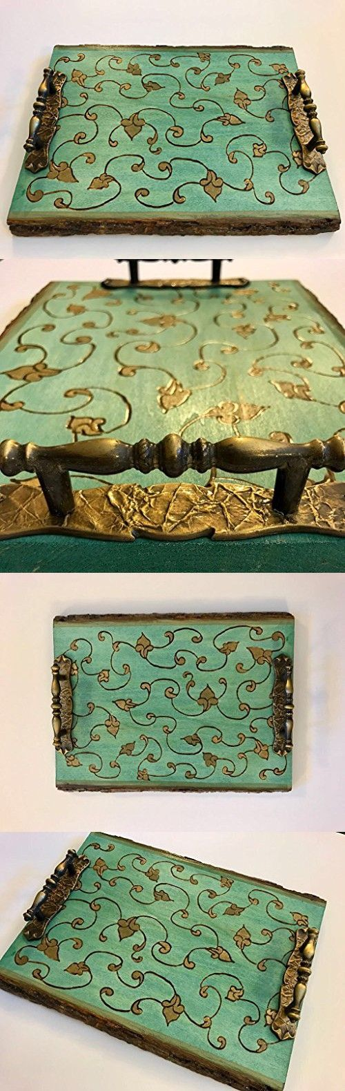 Decorative Ottoman Tray Beauteous 428 Best Decorative Trays Images On Pinterest  Decorative Trays Decorating Design