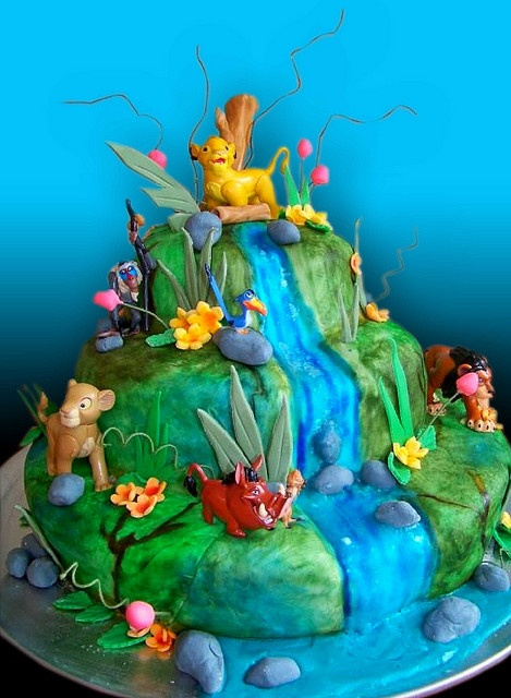 Lion King Cake (Alicia's Farewell Lion King Show) | Flickr - Photo Sharing!