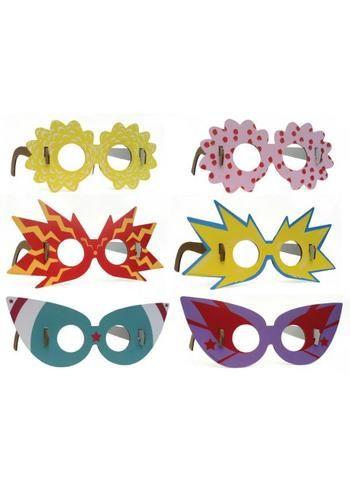 Toffe set 'superster' brillen  Karton  Speelgoed / creatief