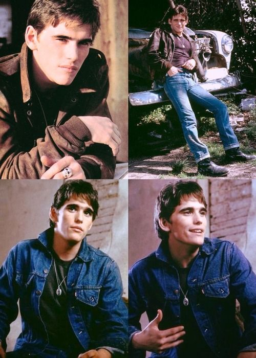 The Outsiders - Everybody loves some Matt Dillon as Dallas Winston pics.
