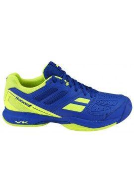 Zapatillas Babolat Pulsion All Court Hombre Azul amarillo