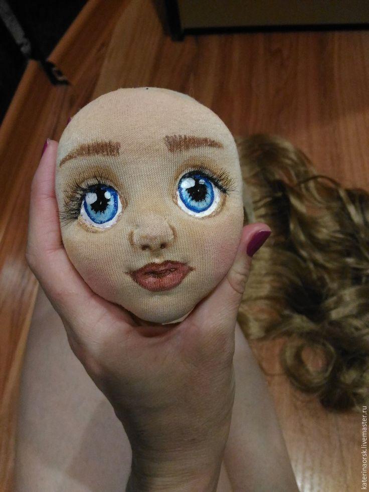 Шьем текстильную куклу с объемным лицом. Часть 1 - Ярмарка Мастеров - ручная…