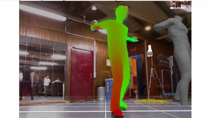 Kinect Sensors and iPiSoft from Truebones HipHop Break Dancing