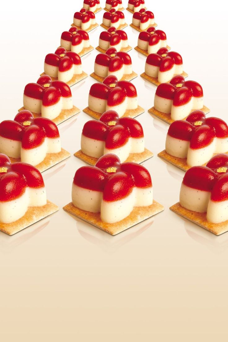 Fleur fraise-vanille - Christophe Adam