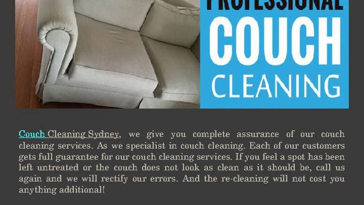Couch Cleaning Sydney also provide Leather / Fabric Couch Cleaning Protection if you go for deluxe upholstery cleaning.
