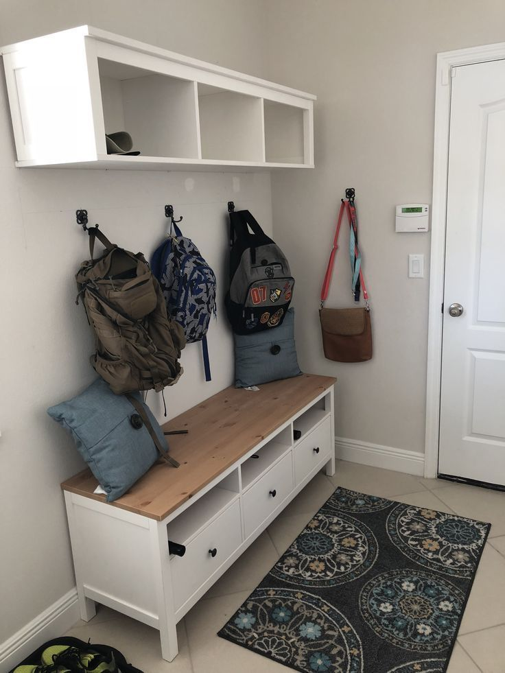 Ikea Hemnes Bruckenregal Und Hemnes Tv Stander Mudroom Bench